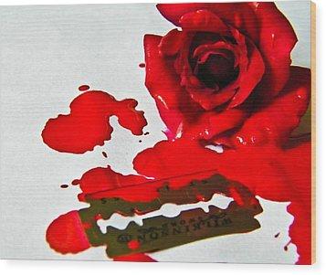 Bleed Wood Print by Prashant Ambastha