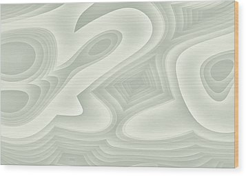 Wood Print featuring the digital art Bleezal by Jeff Iverson