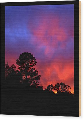 Wood Print featuring the photograph Blessings From The Sun by Susanne Still