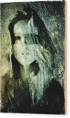Blondie Wood Print by Andrea Barbieri