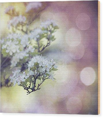 Blossom Wood Print by Joel Olives