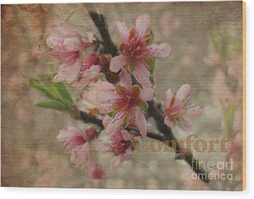 Wood Print featuring the photograph Blossoms by Tamera James
