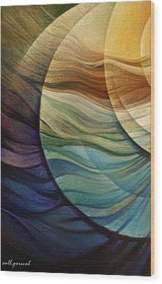 Blowing Spirit Wood Print by Salim Ahmad Gorwal