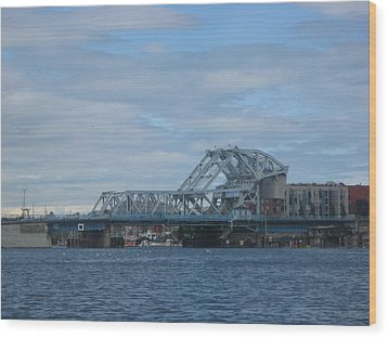 Blue Bridge Victoria Wood Print
