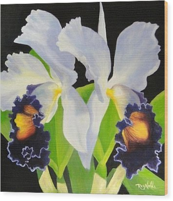 Blue Heaven Wood Print by Carol Reynolds