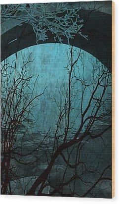 Blue Lagoon  Wood Print by Jerry Cordeiro