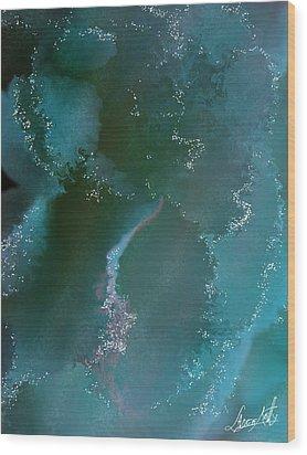 Blue Lagoon Wood Print by Lance  Kelly