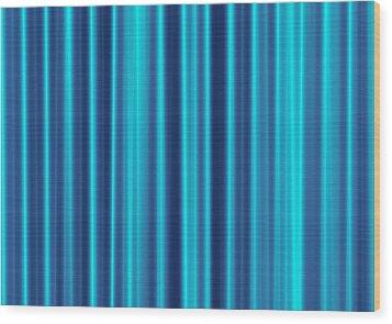 Blue Screen Wood Print by Jeff Iverson