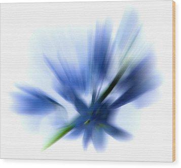 Blue Wood Print by Sharon Lisa Clarke