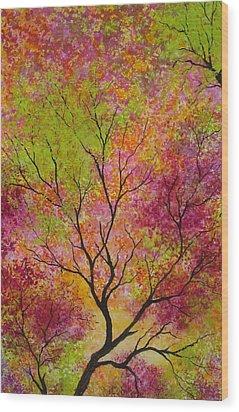 Blush 3 Wood Print