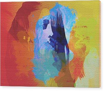 Bob Marley 4 Wood Print by Naxart Studio