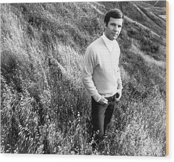 Bobby Vee, Ca. 1968 Wood Print by Everett