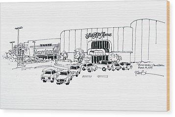 Boca Raton Town Center Mall Wood Print by Robert Birkenes