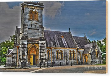 Bodalla All Saints Anglican Church  Wood Print by Joanne Kocwin