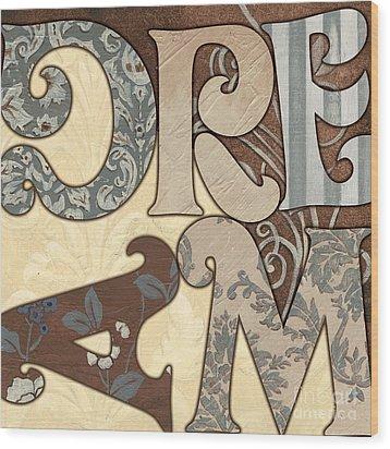 Bohemian Dream Wood Print by Debbie DeWitt