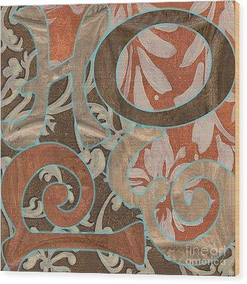 Bohemian Hope Wood Print by Debbie DeWitt