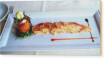 Bon Appetit Wood Print by Tanya  Searcy
