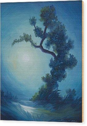 Bonsai I Wood Print by James Christopher Hill