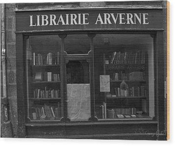Book Shop Wood Print by Georgia Fowler