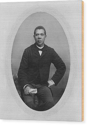 Booker T. Washington 1856-1915,  Ca Wood Print by Everett