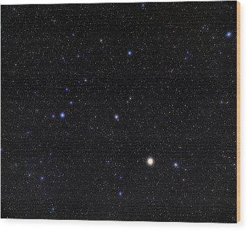 Bootes Constellation Wood Print by Eckhard Slawik