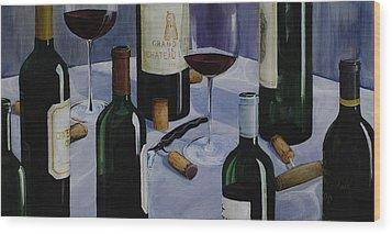 Bordeaux Wood Print by Geoff Powell