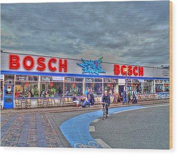 Bosch Wood Print by Barry R Jones Jr
