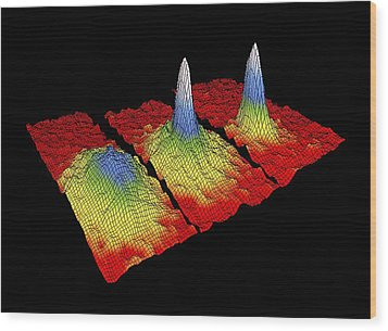 Bose-einstein Condensate Research Wood Print by National Institute Of Standards And Technology