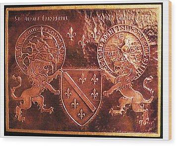 Bosnia Kingdom Wood Print by Mak Art
