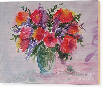Bouquet Of Wishes Wood Print by Kimberlee Weisker