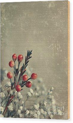 Bouquetterie Wood Print by Aimelle