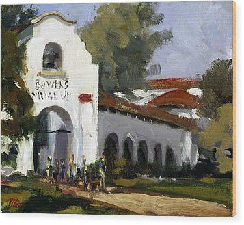 Bowers Museum Wood Print by Mark Lunde