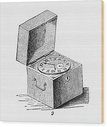 Box Chronometer Wood Print by Science Source
