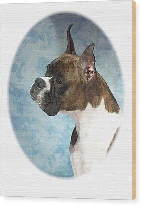 Boxer 816 Wood Print by Larry Matthews