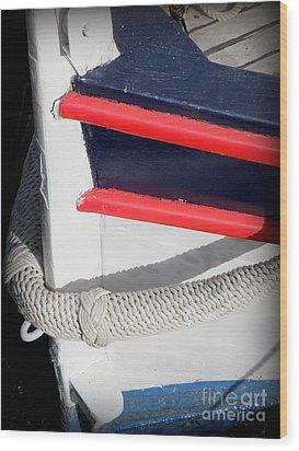 Braided Bumper Wood Print by Lainie Wrightson