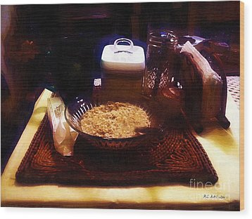 Breakfast Of Champions Wood Print by RC DeWinter