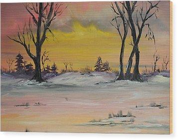 Breaking Dawn Wood Print by James Higgins