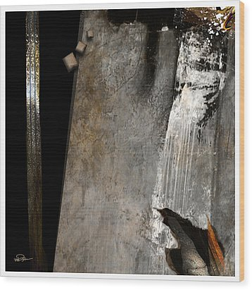 Breakthrough Wood Print by James VerDoorn