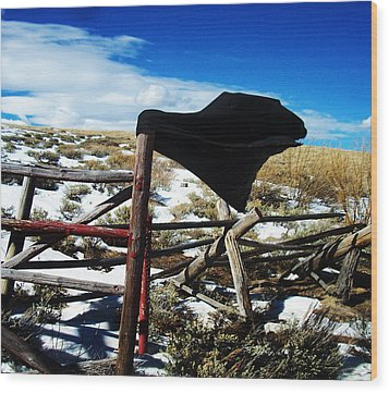 Breezy Day Wood Print by Wesley Hahn