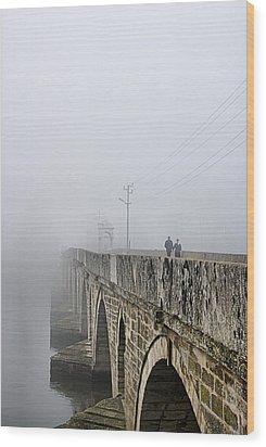 Bridge - 3 Wood Print by Okan YILMAZ