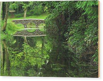 Bridge Of Tranquillity Wood Print