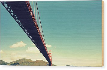 Bridge To The Headlands Wood Print by Eliot Jenkins