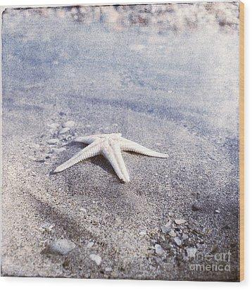 Bright Star Wood Print by Paul Grand