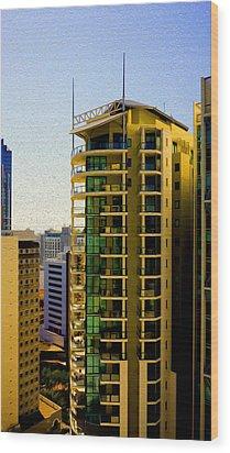 Brisbane 25th Floor 02 Wood Print by Joe Michelli