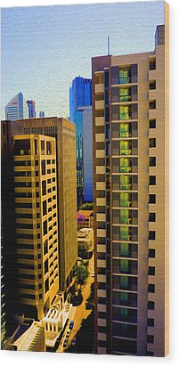 Brisbane 25th Floor 03 Wood Print by Joe Michelli