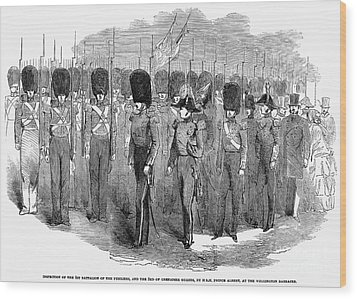 Britain: Fusiliers, 1854 Wood Print by Granger