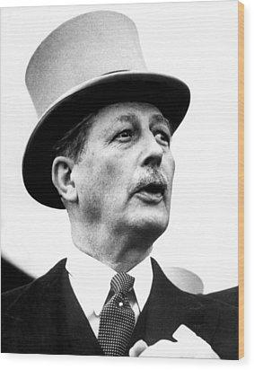 British Prime Minister Harold Wood Print by Everett