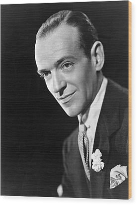 Broadway Melody Of 1940, Fred Astaire Wood Print by Everett