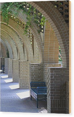 Brookgreen Arches Wood Print