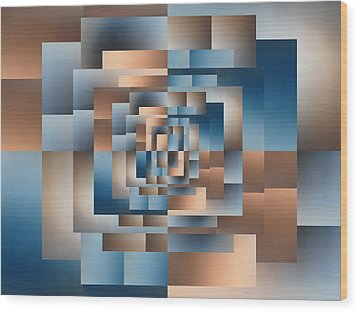 Brushed 16 Wood Print by Tim Allen